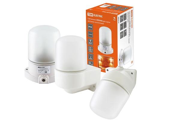 Светильники серии НПБ400 для саун